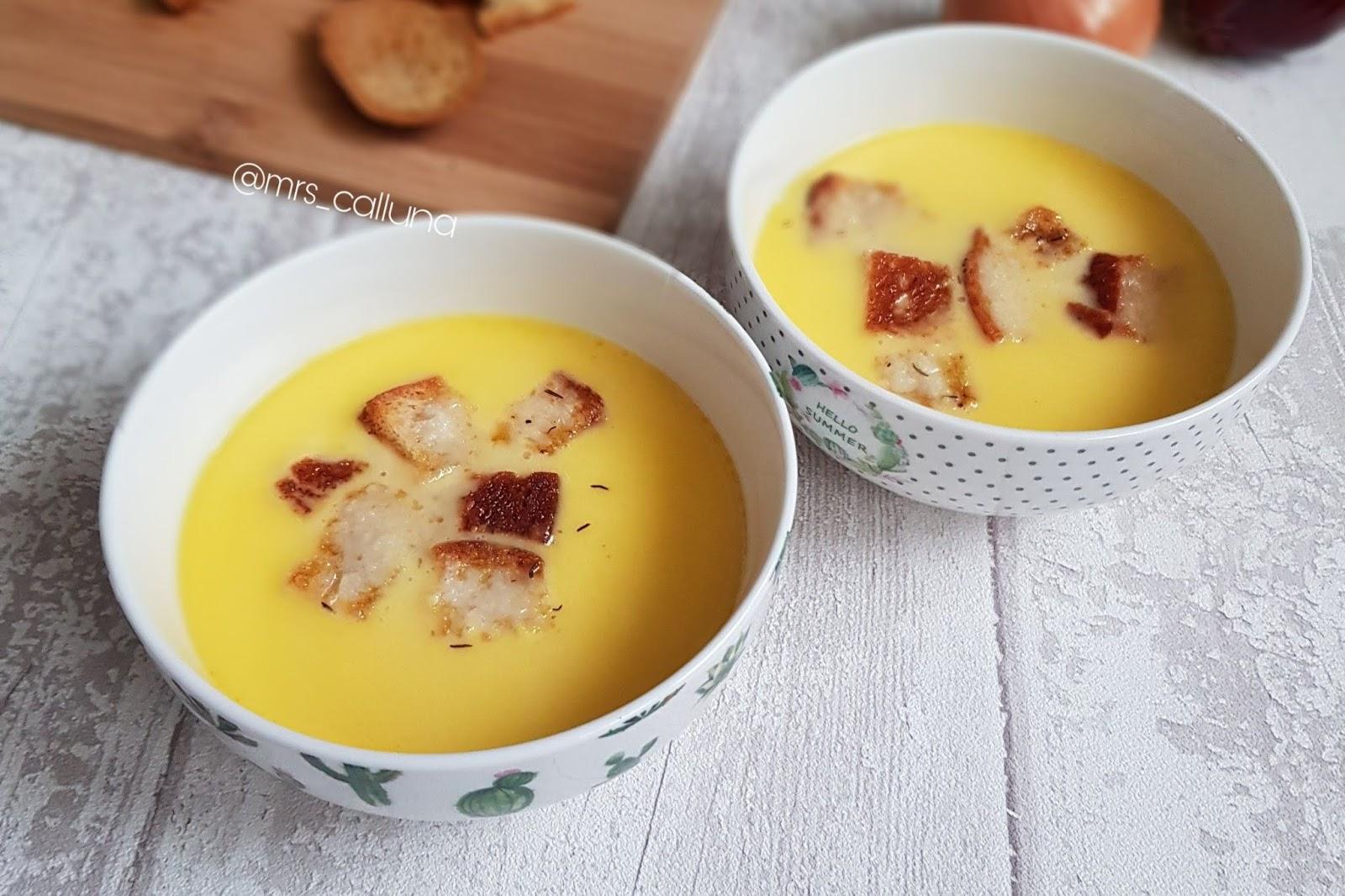 prawdziwa zupa serowa