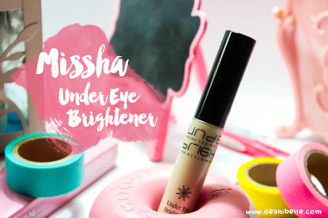 Missha The Style Under Eye Brightener review