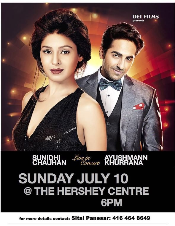 Sunidhi Chauhan Live Concert in Mississauga