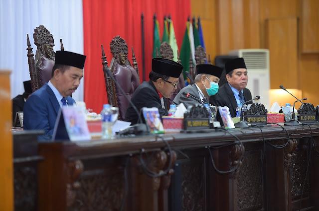 DPRD Sumsel Gelar Paripurna Tentang Penjelasan Raperda Pertanggung Jawaban TA 2017