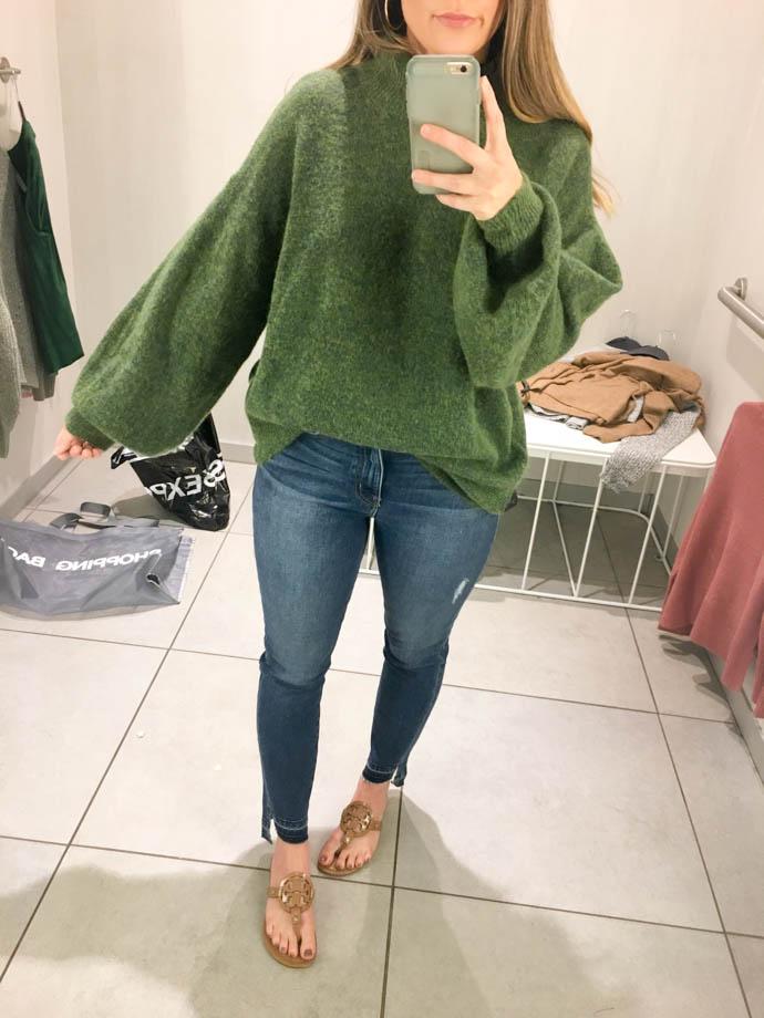 h&m fine knit sweater, fall outfit 2017, amanda sumner, the girlish blog, girl(ish), sc fashion blogger