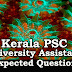 Kerala PSC Model Questions for University Assistant - 78