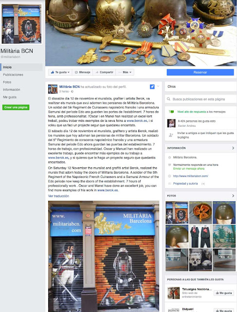 Militària Barcelona Facebook