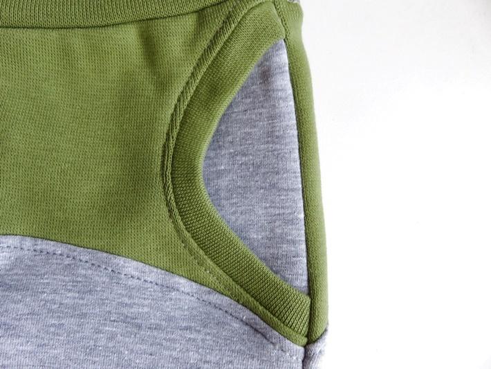 Teilansicht Tascheneingriff Babyhose MOTTI