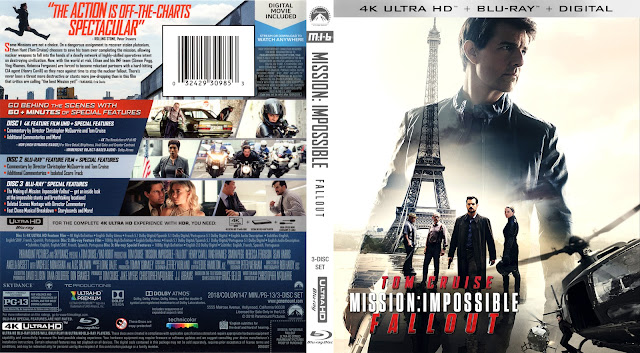 Mission: Impossible - Fallout 4k Bluray