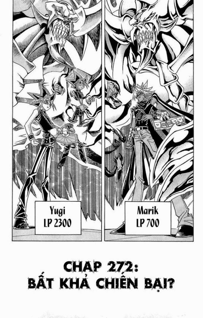 YUGI-OH! chap 272 - bất khả chiến bại trang 4