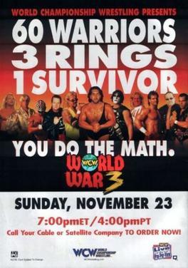 PPV REVIEW: WCW World War 3 1997 ~ Retro Pro Wrestling Reviews
