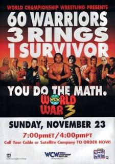 WCW World War 3 1997 Review - Event Poster