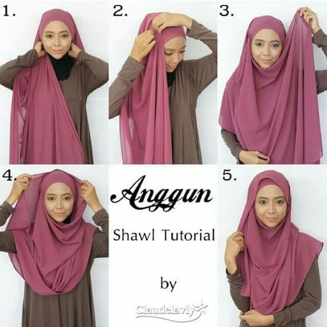 Fashion 2017 untuk hijab - 5 Cara Pakai Tudung Ala Mira Filzah