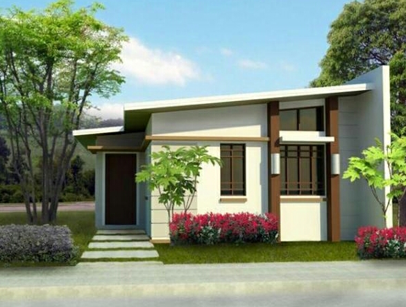 New home designs latest modern small homes exterior for Small modern house ideas