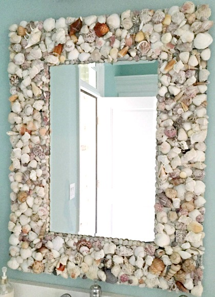 Make Seashell Mirror