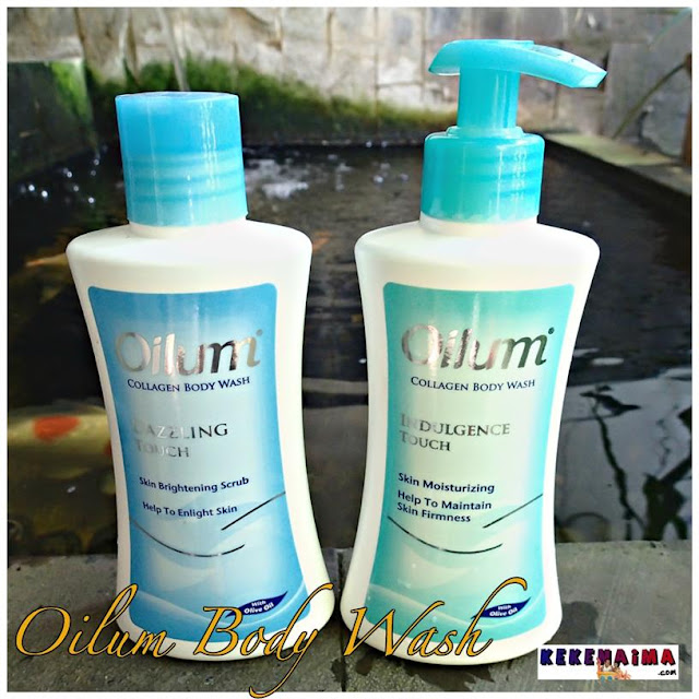 Oilum Collagen, Body wash, body lotion, soap bar, dry skin, kulit kering
