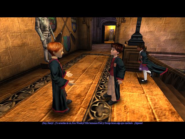 Harry potter y la piedra filosofal - Captura 4