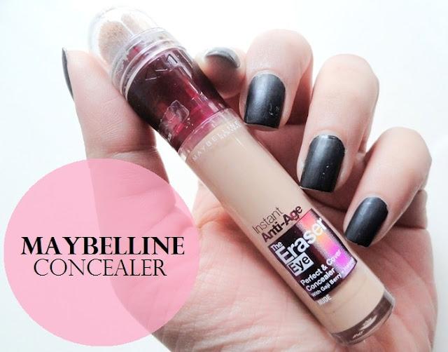 maybelline instant eye eraser concealer
