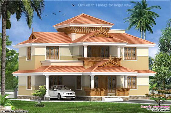 traditional Kerala villa