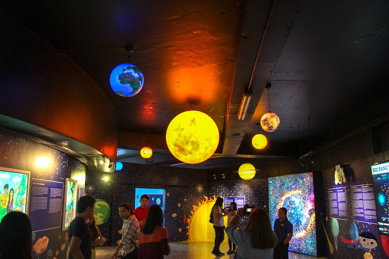 First Gallery in National Planetarium, Manila