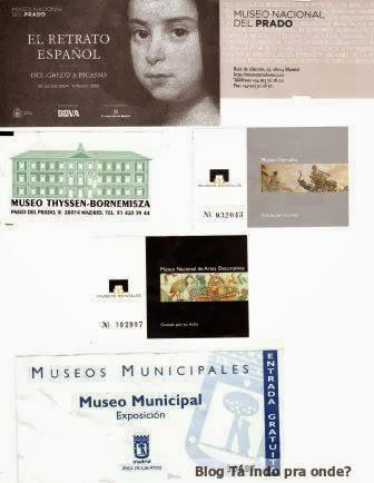 entradas de atrações em Madri