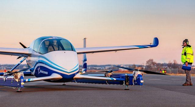 #Vídeo: Voló el vehículo aéreo sin conductor de Boeing
