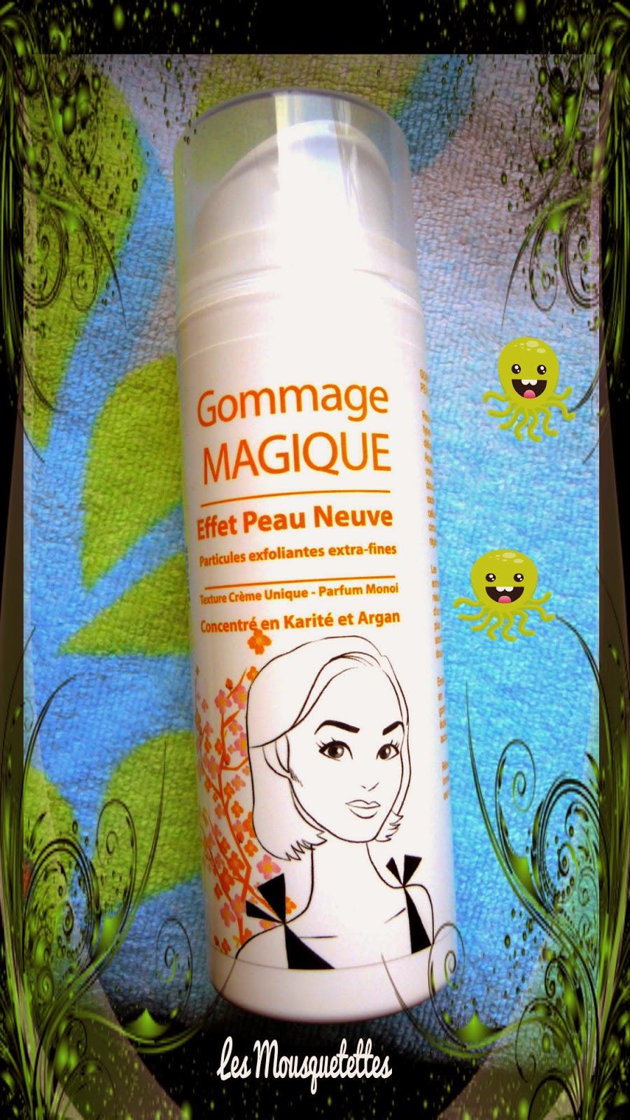 Gommage magique Aquatéal - Les Mousquetettes©