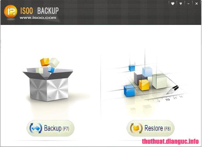 Download Isoo Backup 2.2.0.661 Full Cr@ck – Phần mềm sao lưu khôi phục hệ thống