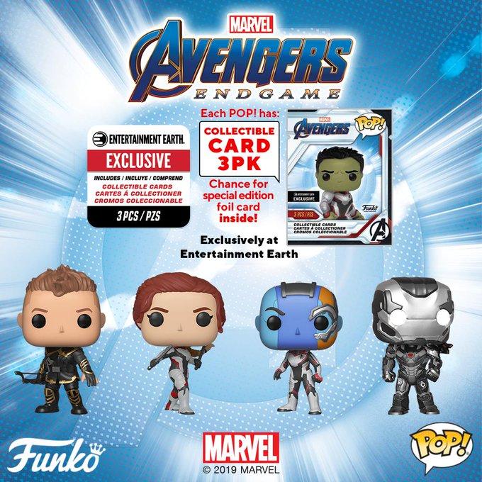 54fc0755 The Blot Says...: Avengers: Endgame Pop! Marvel Vinyl Figures by Funko