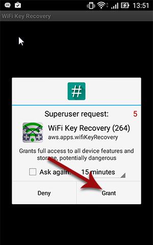 """أفضل تطبيق لمعرفة كلمات مرور """"واي فاي"""" المخزنة على اجهزة اندرويد WiFi Key Recovery"""