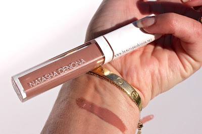 natasha denona lip gloss swatch