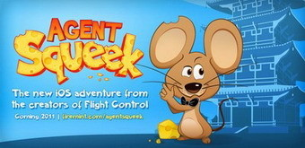 Agent Squeek is Firemint's third iPhone game