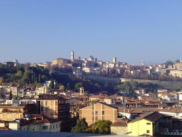 Città Alta Bergamo foto