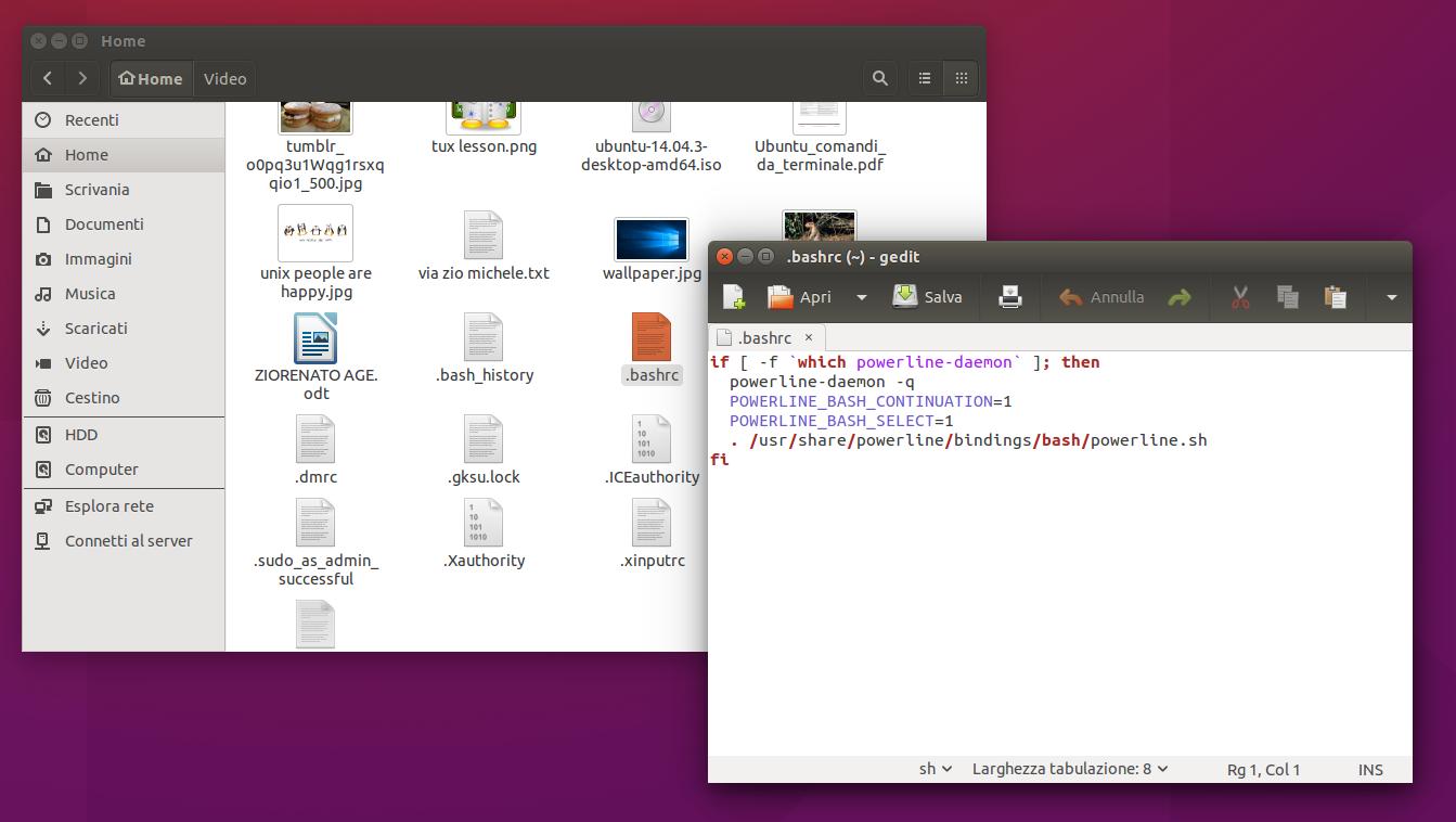 Installare Powerline su Ubuntu