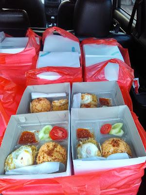 Paket Nasi Box ke Kawasan Industri Cilegon 3