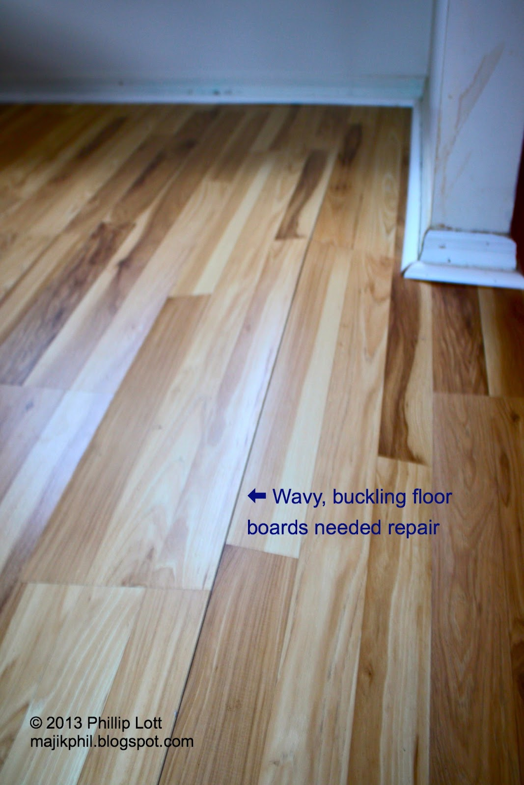 Laminate Floor Got Wet Buckling Home Plan
