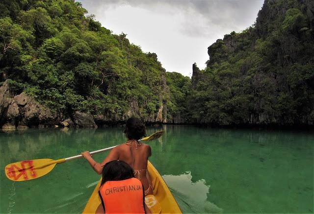 El Nido, Filipinas. Tours de El Nido. Small Lagoon