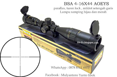 JUAL SCOPE BSA 4-16X44 AOEYS