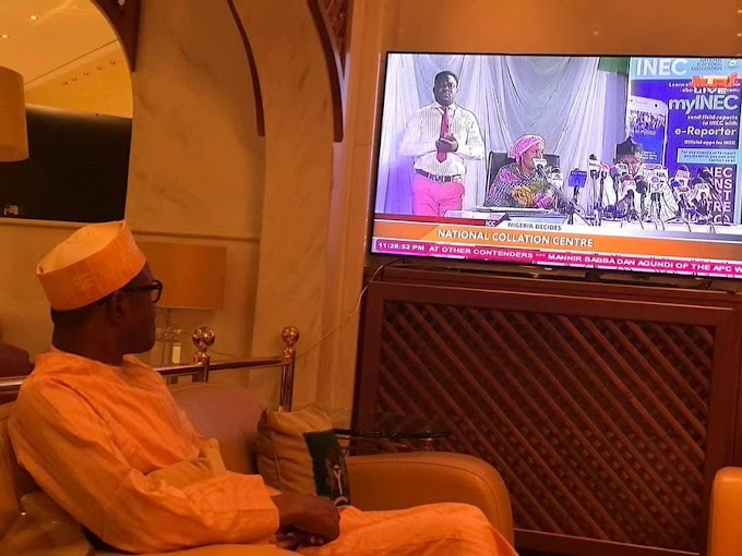 BREAKING: INEC declares Buhari winner of 2019 presidential election