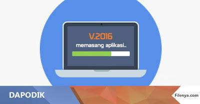 Cara Update Aplikasi Dapodik 2016a
