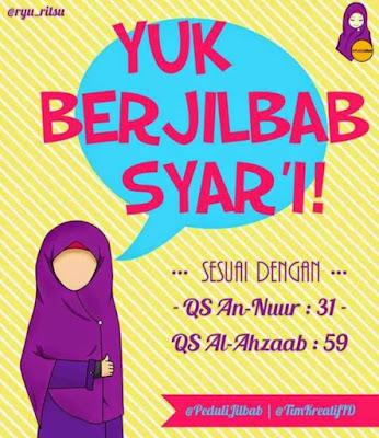 kartun islami gambar remaja muslimah
