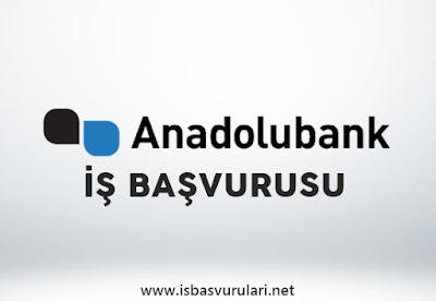 Anadolubank iş başvurusu