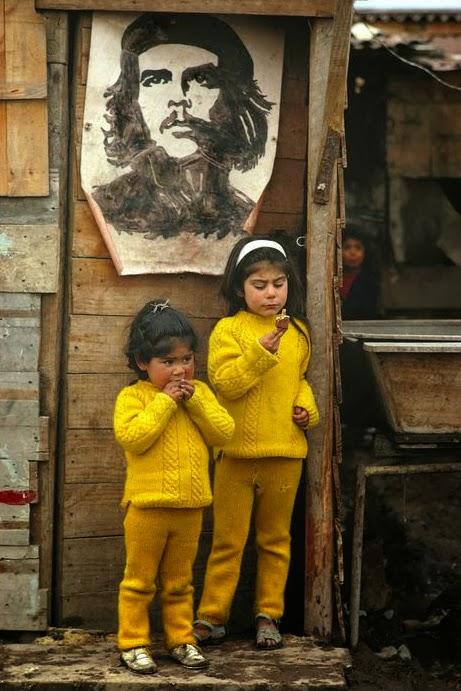 Raymond Depardon, Che Guevara base camp, South Santiago, Chile, 1971