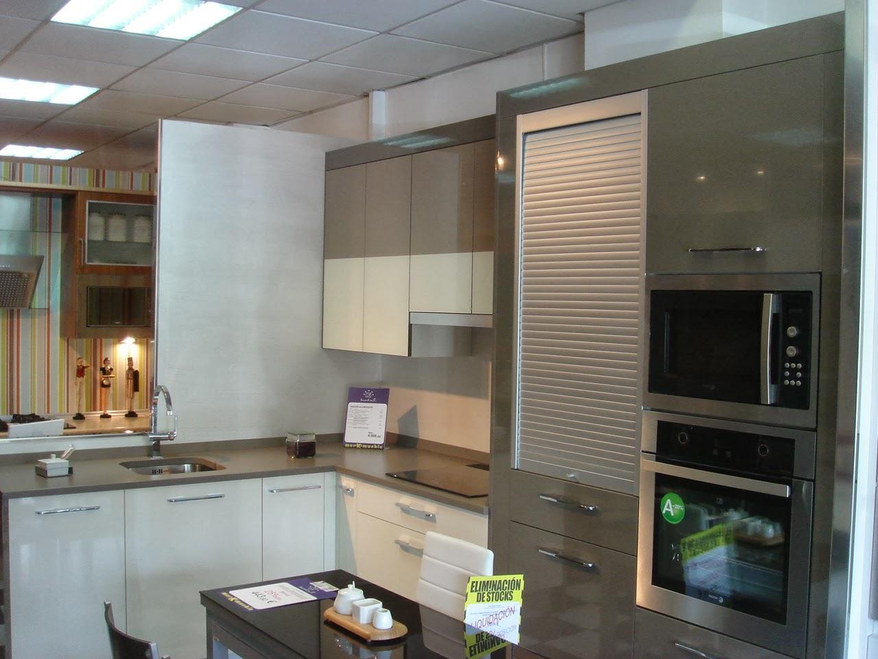 Merkamueble Aranda: Exposición de cocinas