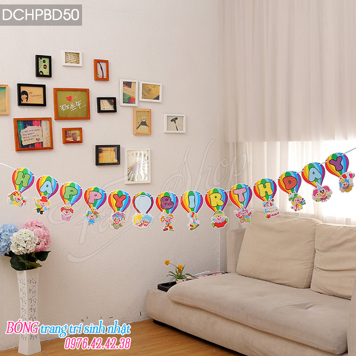Day chu Happy Birthday DCHPBD50