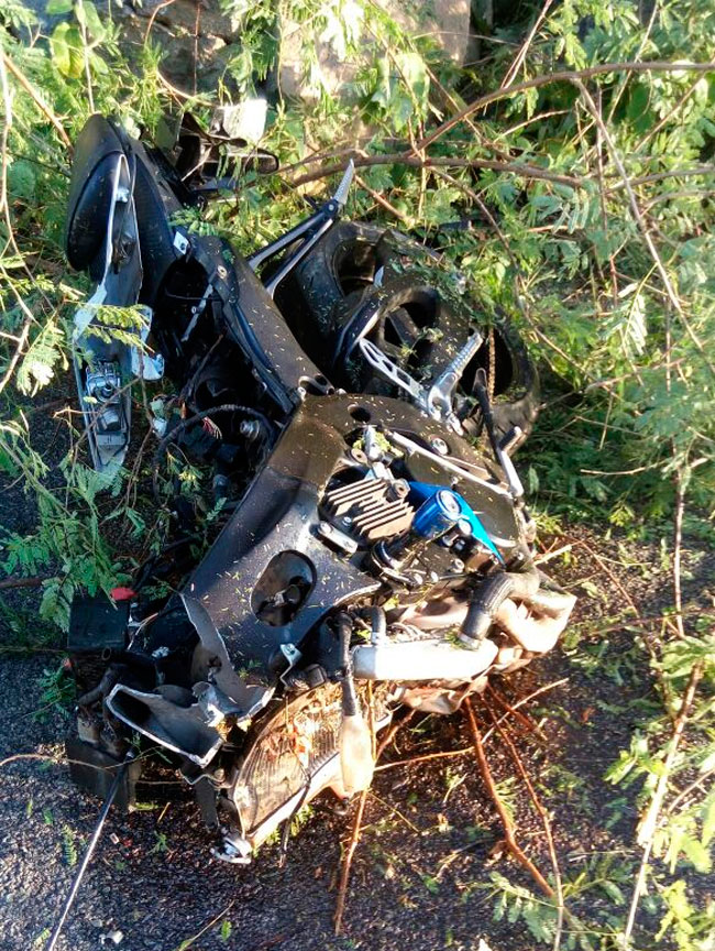 Tenente sofre acidente na PE-263