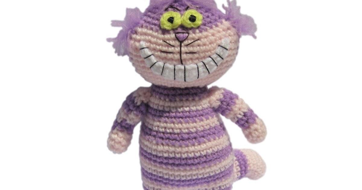 Crochet PATTERN No 1624 Pink Cheshire cat pattern by Krawka | Etsy | 630x1200