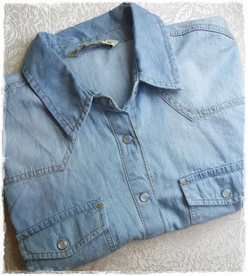 denim gömlek, indirimli gömlek, kot gömlek