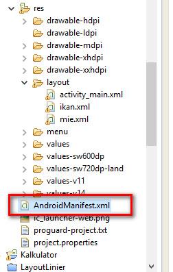 Tutorial Android : Membuat Pindah Halaman lain dengan INTENT