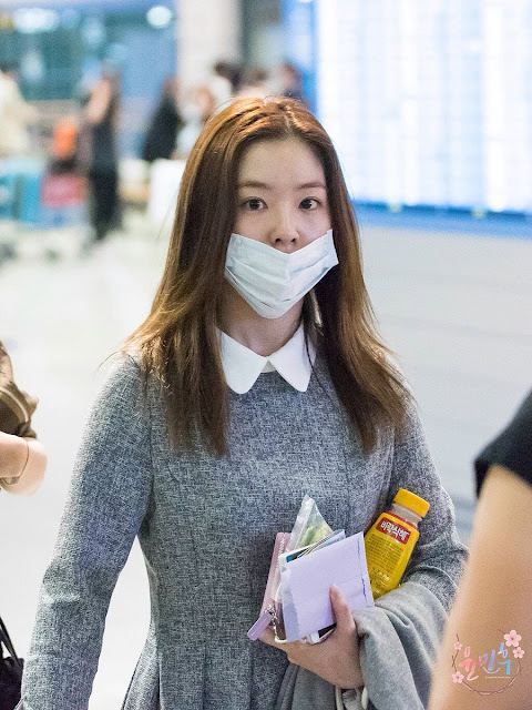 Irene Red Velvet Without Makeup