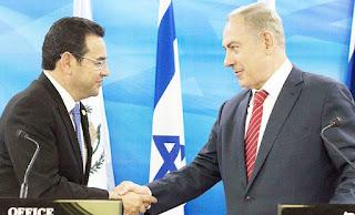 Η Γουατεμάλα άνοιξε πρεσβεία στην Ιερουσαλήμ