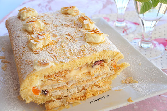 Mille Feuille into Swiss Roll