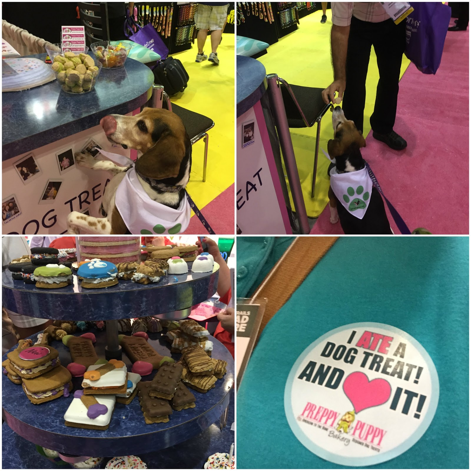 Life With Beagle: 9 great dog companies we found at Global Pet ...