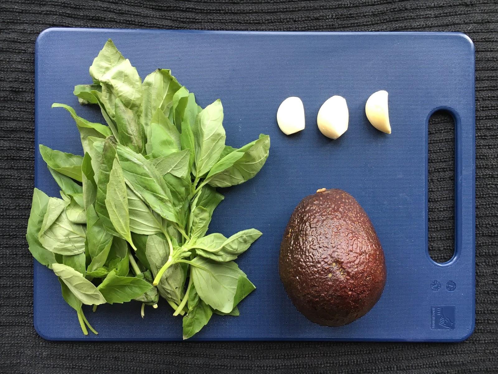 Vegan Avocado Pesto (Nut Free + Vegan)